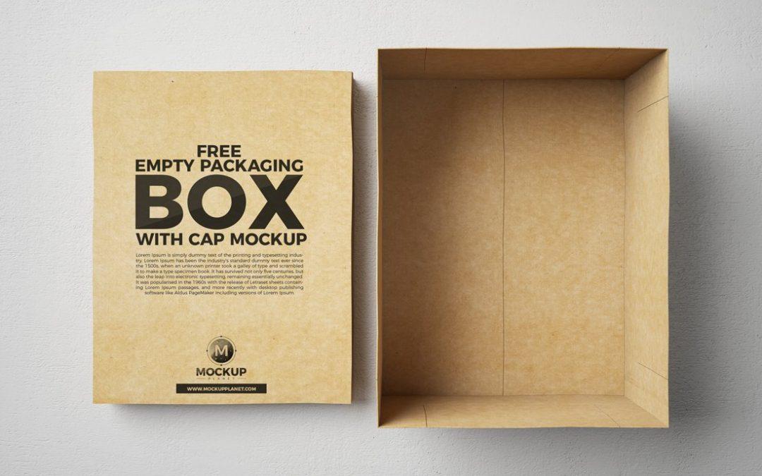 36 maquettes de boîtes gratuites pour un emballage incroyable en 2020  – Caisses en bois – Caisses à Pommes