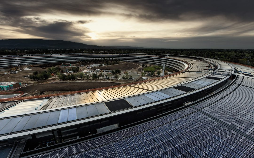 Le nouveau campus Apple: un look exclusif à l'intérieur du vaisseau mère  – Caisses en bois – Caisses à Pommes