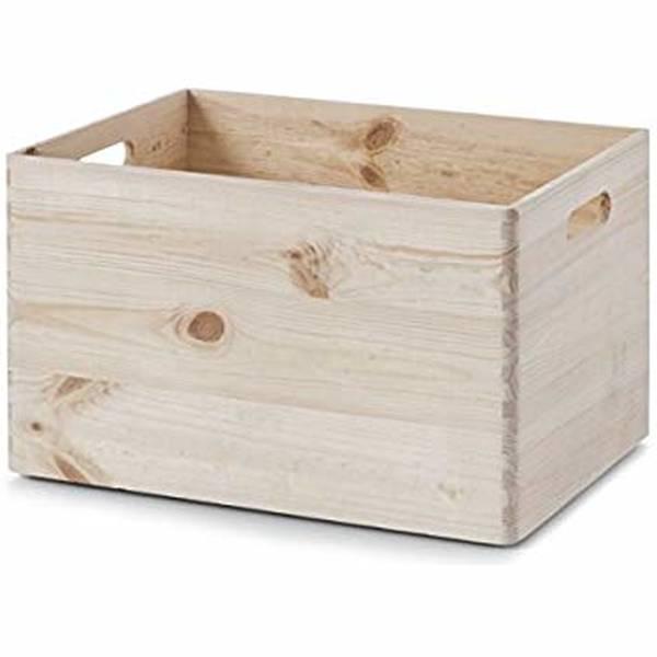 caisse en bois chaussure
