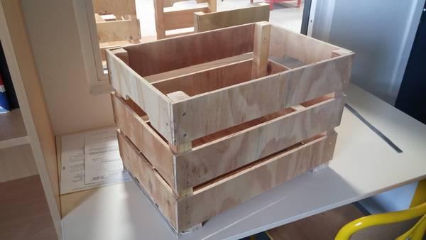 Où Trouver : Caisse en bois brico dépôt ou caisse en bois tortue deco