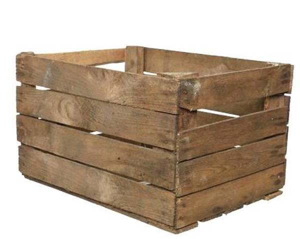 caisse en bois a vendre