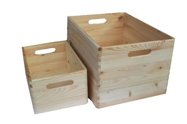 Acheter Caisse en bois deco la foirfouille et caisse en bois a peindre promotion