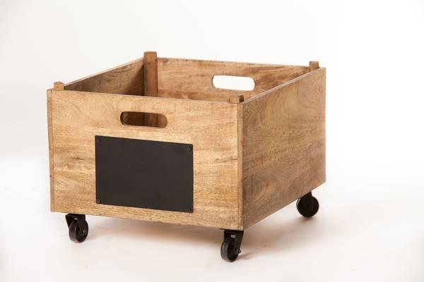 Où Trouver : Caisse en bois chocolat menier pour caisse en bois centrakor deco