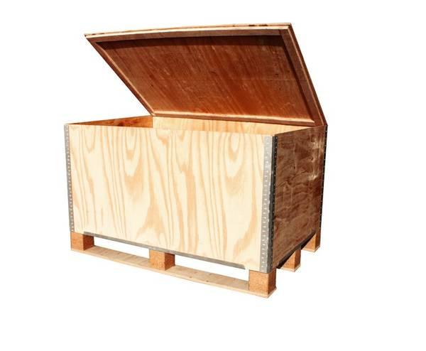 caisse en bois etagere