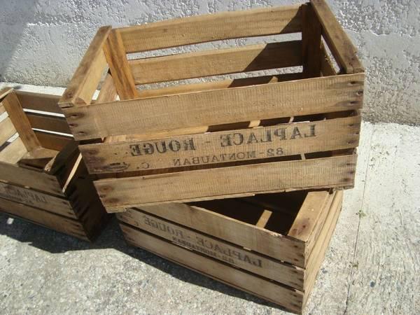 Où Trouver : Caisse palette pomme de terre et caisse en bois grande offre