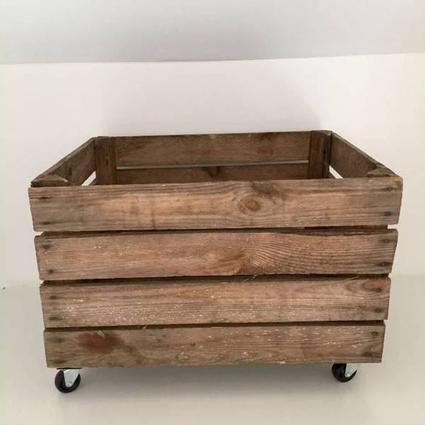 Acheter Caisse en bois chaussure : caisse en bois rose avis