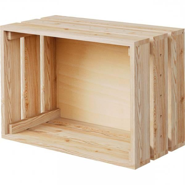 fabriquer table basse caisse a pomme