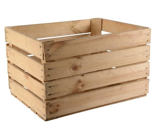 Où Trouver : Caisse en bois hauteur 15 cm pour caisse en bois recup offre