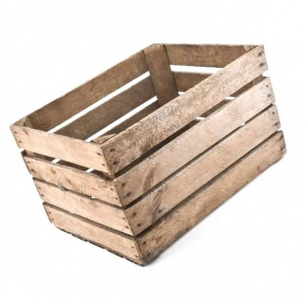 Acheter Une caisse en bois anglais ou fabriquer une caisse en bois avec palette deco