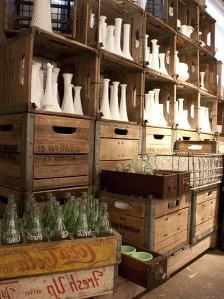 Acheter Etagere caisse en bois ikea / table caisse a pomme comparatif