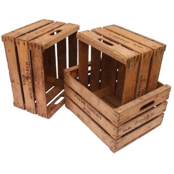 Où Trouver : Caisse a pomme blanche : caisse en bois rustique avis