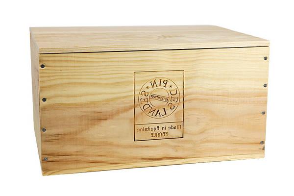caisse en bois conforama