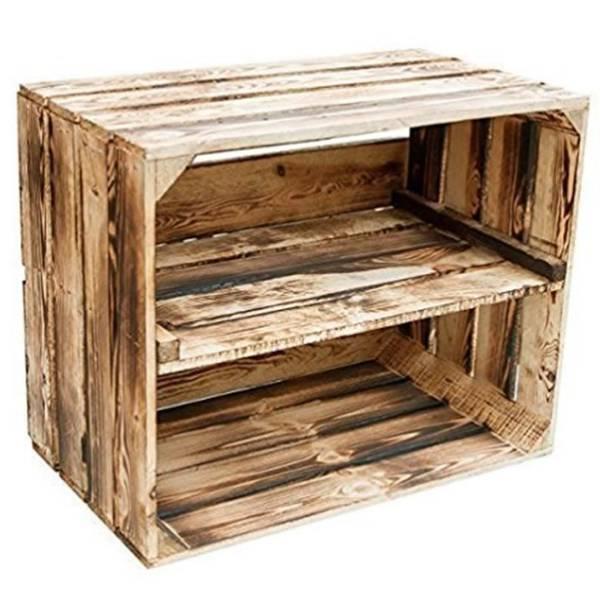 nettoyer une caisse en bois