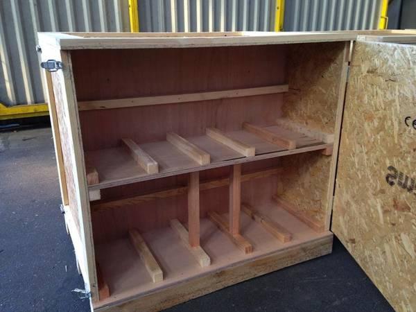 Acheter Caisse en bois pour transport maritime ou caisse en bois lot comparatif