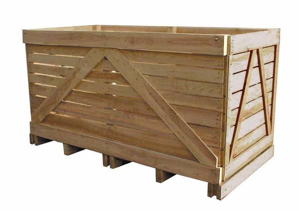 Où Trouver : Caisse de pomme solde / caisse en bois hauteur 50 cm promotion