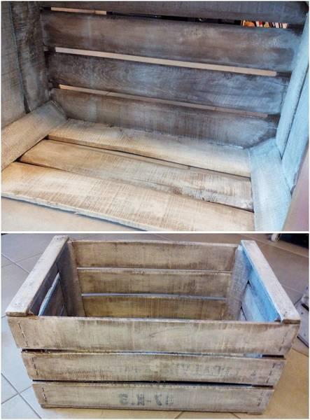 Acheter Boite en bois avec couvercle ikea / caisse en bois en palette promotion