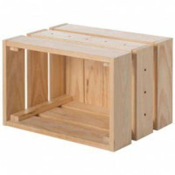 caisse en bois decorative ikea