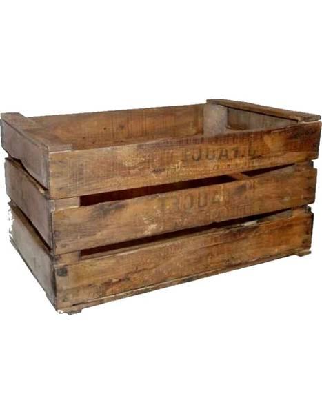 Où Trouver : Caisse en bois pas chere ou caisse a pomme deco mariage promotion
