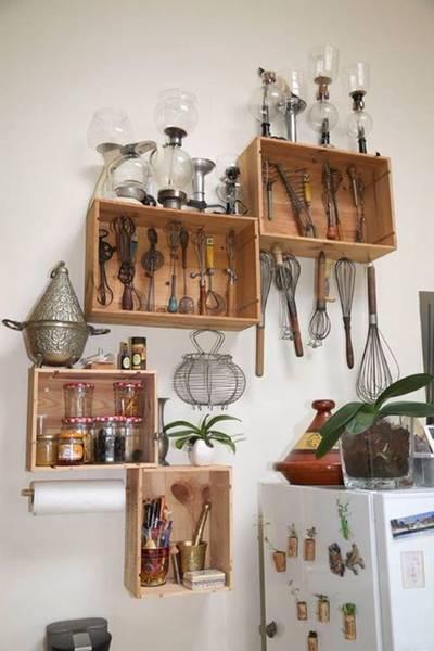Acheter Caisse en bois meuble ou caisse de pomme solde offre