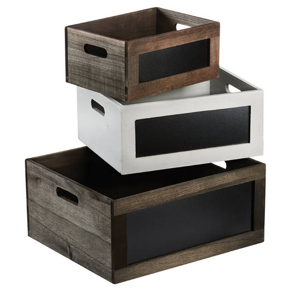 Acheter Caisse en bois h et m et caisse bois quad offre