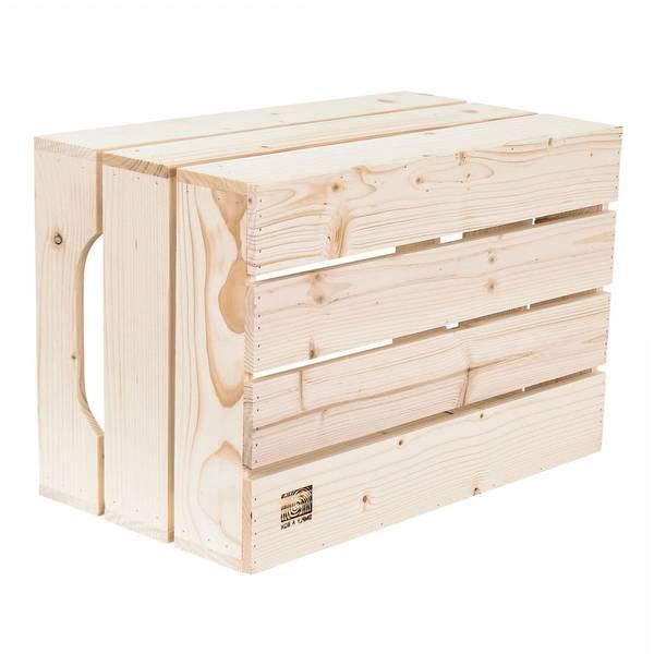 Où Trouver : Caisse en bois brico dépôt / caisse en bois mariage comparatif