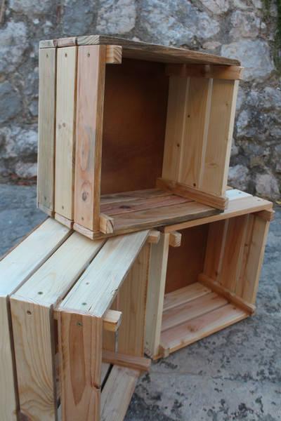 caisse en bois pour outils