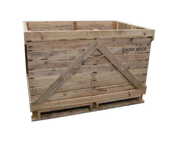 Où Trouver : Caisse en bois gravé et caisse en bois retif deco