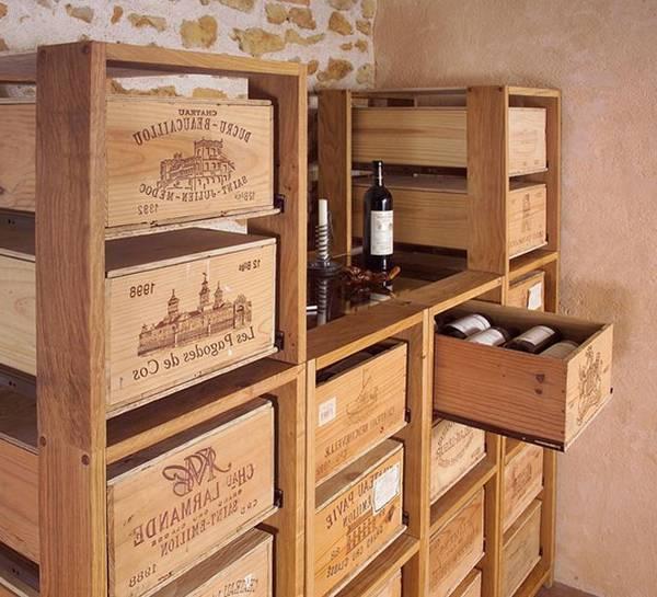caisse de vin en bois quebec